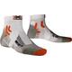 X-Socks Marathon Miehet juoksusukat , valkoinen